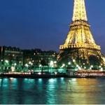 Paris nächtliche Bootsfahrt auf der Seine