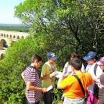 Schizeljagt am Pont Du gard
