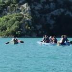 Kanufahrt auf dem Lac d'esparron
